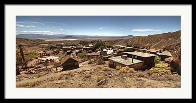 Yermo Framed Prints