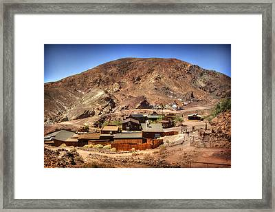 Calico Ghost Town 5 Framed Print by Jessica Velasco