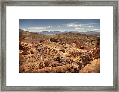 Calico Ghost Town 7 Framed Print by Jessica Velasco