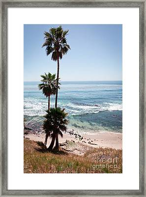 California Coastline Photo Framed Print by Paul Velgos