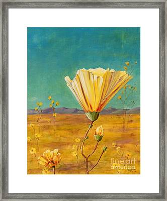 California Desert Closeup Framed Print