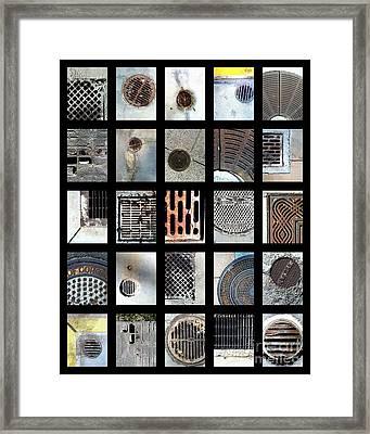 California Drainin' Framed Print by Marlene Burns