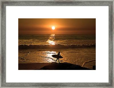 California Dreaming Framed Print by Edward Printz