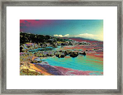 Framed Print featuring the photograph California Dreaming by Louis Nugent