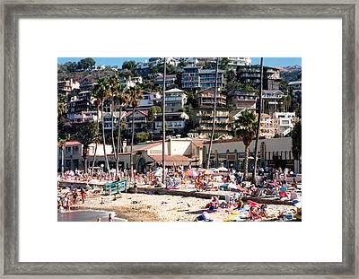 Framed Print featuring the photograph California Dreaming by Tanya Tanski