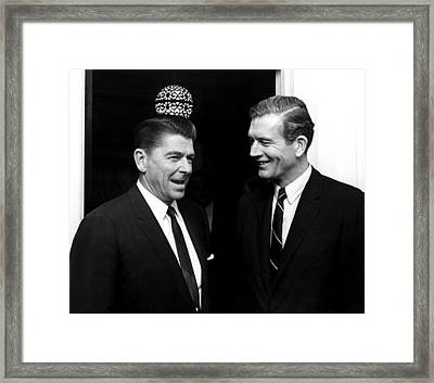 California Goveronor Ronald Reagan, New Framed Print by Everett