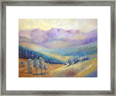 California Pleasant Framed Print