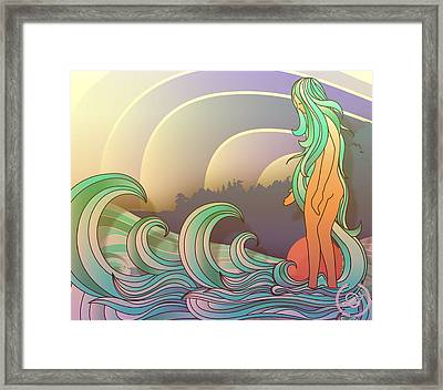California Queen Framed Print