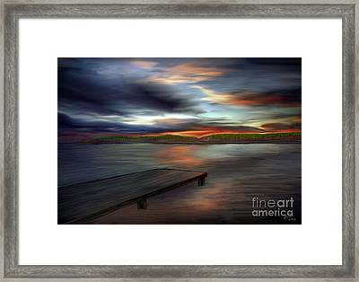 California Sky Framed Print by Rand Herron