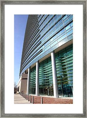 California State Teachers Retirement System Calstrs In West Sacramento California . 7d11473 Framed Print by Wingsdomain Art and Photography