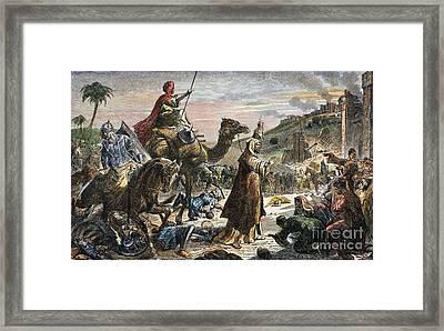 Caliph Umar Framed Print