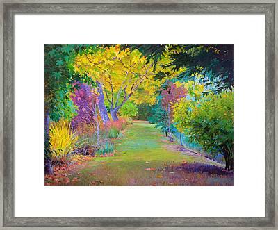 Calistoga Fall Framed Print