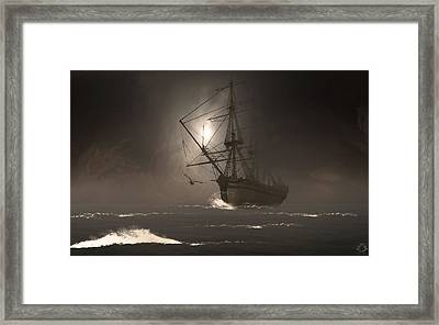 Call Of The Hoot Framed Print by Lourry Legarde