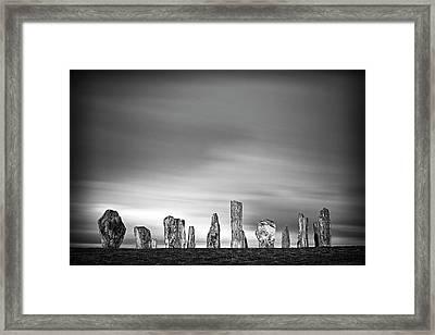 Callanish Standing Stones Framed Print by Doug Chinnery