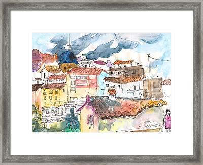 Callosa De Ensarria 02 Framed Print by Miki De Goodaboom