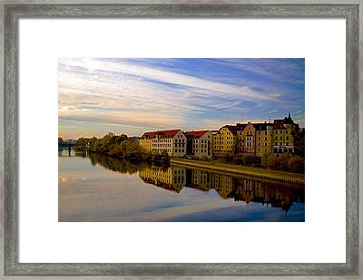 Calm As Glass Framed Print by Anthony Citro
