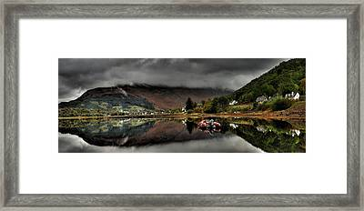 Calm Before The Storm Framed Print by John Chivers