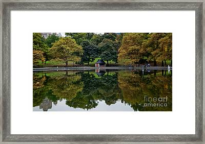 Calm Before The Storm Nyc Framed Print