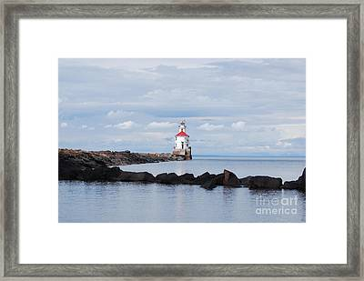 Calm Light Framed Print by Whispering Feather Gallery