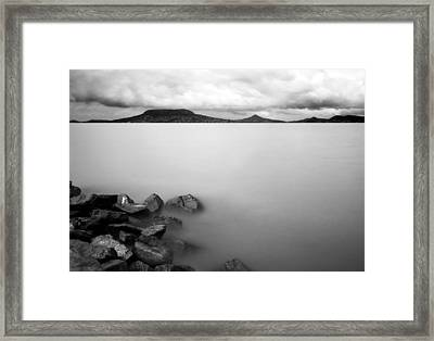 Framed Print featuring the photograph Calm by Odon Czintos