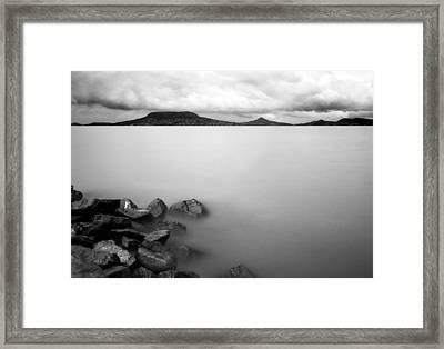 Calm Framed Print by Odon Czintos