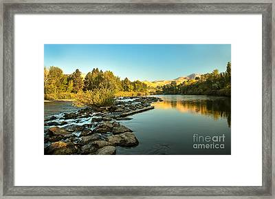 Calm Payette Framed Print by Robert Bales