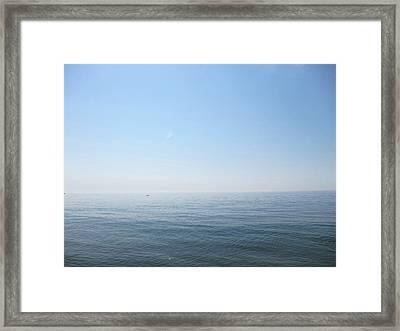 Calm Sea Framed Print by Sabine Davis