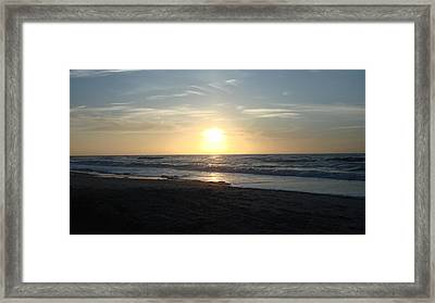 Calm Sunrise Framed Print by Marcus Hudson
