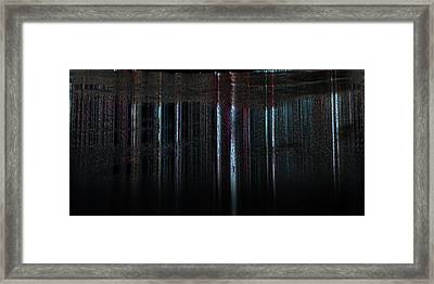 Calm Tense 02 Framed Print by Li   van Saathoff