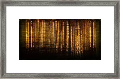 Calm Tense 03 Framed Print by Li   van Saathoff