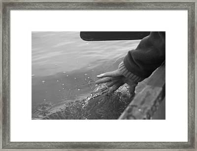 Calm Waters Framed Print by Ellery Russell