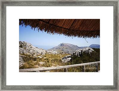 Calobras Road Framed Print