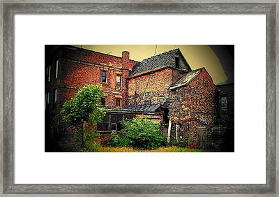 Framed Print featuring the photograph Calumet Gothic by MJ Olsen
