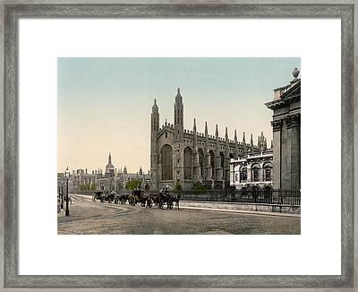 Cambridge - England - Kings College Framed Print by International  Images