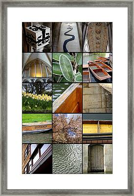 Cambridge As I Remember It Framed Print by Roberto Alamino