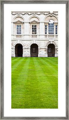 Cambridge College  Framed Print by Tom Gowanlock