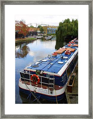 Camden Lock Framed Print by Gareth M Thomas