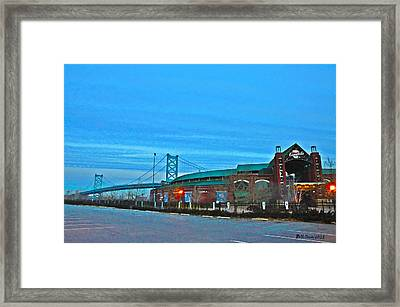 Camdens Campbells Field Framed Print by Bill Cannon
