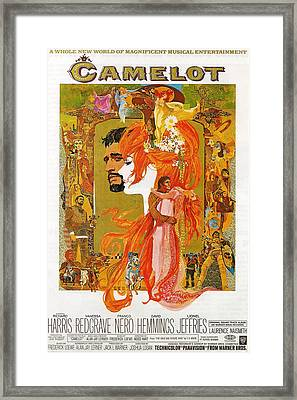 Camelot Framed Print by Georgia Fowler