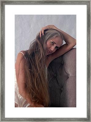 Camera Shy Framed Print by Nancy Taylor
