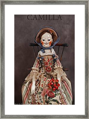 Camilla Framed Print by Vita Soyka