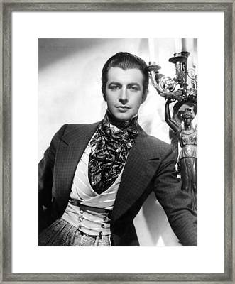 Camille, Robert Taylor, 1936 Framed Print by Everett