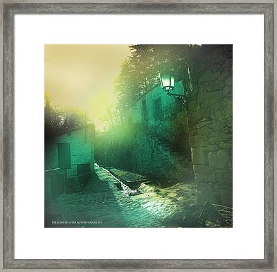 Framed Print featuring the photograph Camino A La Huerta by Alfonso Garcia