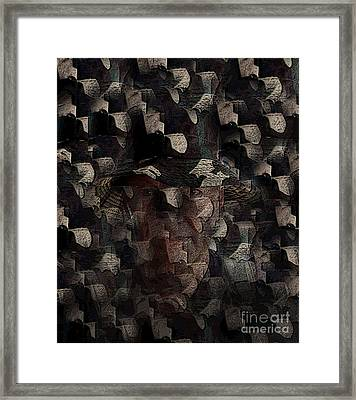 Camouflage Framed Print by Al Bourassa