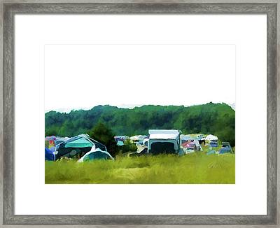 Camp Bliss Framed Print by Daniel Tollas
