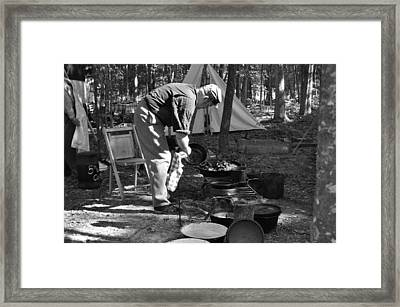 Camp Site Framed Print by Tammy Price