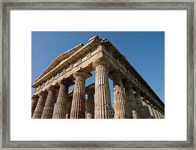 Campania Ruins Framed Print by Axiom Photographic