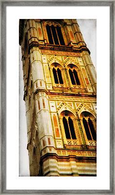 Campanile Di Giotto Framed Print by Li   van Saathoff