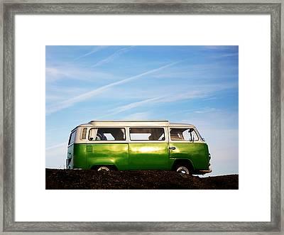 Camper Van Framed Print