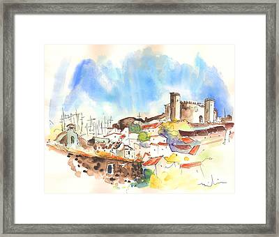 Campo Maior In Portugal 02 Framed Print by Miki De Goodaboom